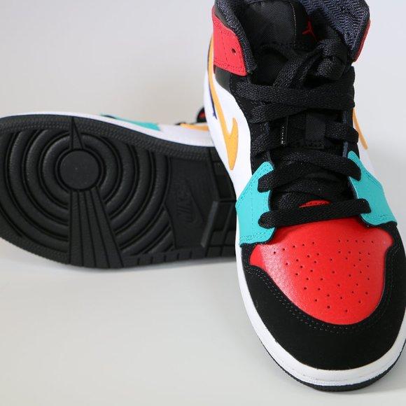 Nike Air Jordan 1 Mid Multi Color 554724-125